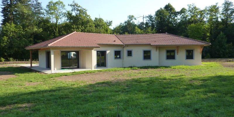 Construction d_une villa à BOURG EN BRESSE dans l_AIN