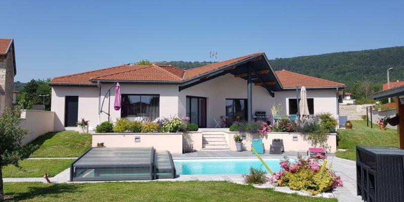 Construction d_une villa à CEYZERIAT dans l_AIN