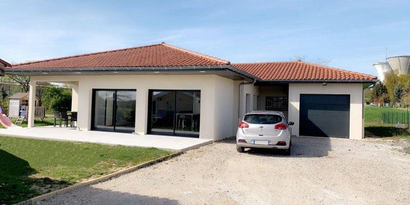 Construction d_une villa à SAINT REMY dans l_AIN